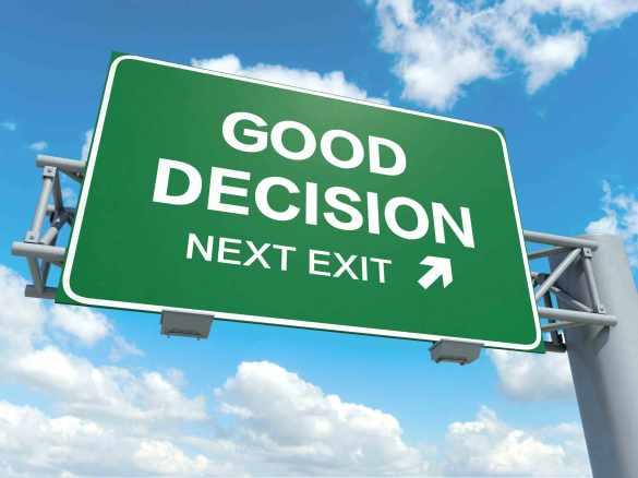 Good Decision next exit